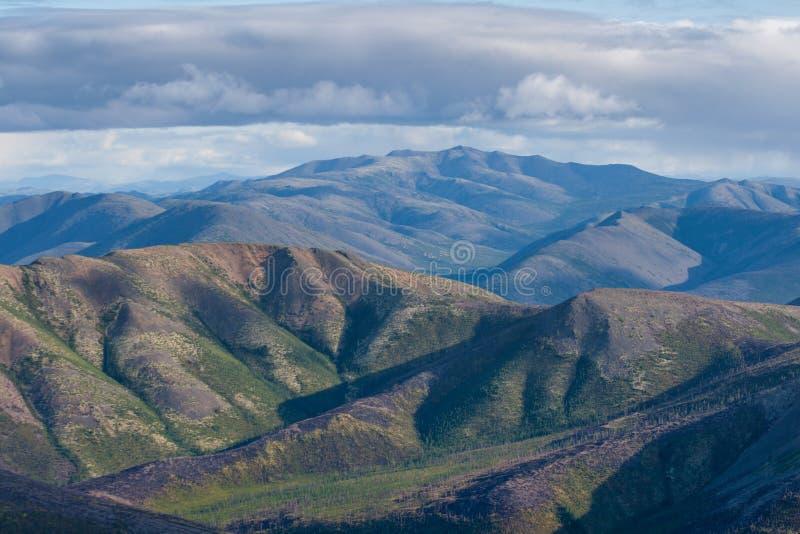 Ruw berglandschap royalty-vrije stock foto