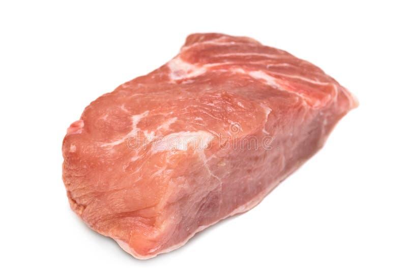 Ruw filethaakwerk van varkensvlees stock foto's