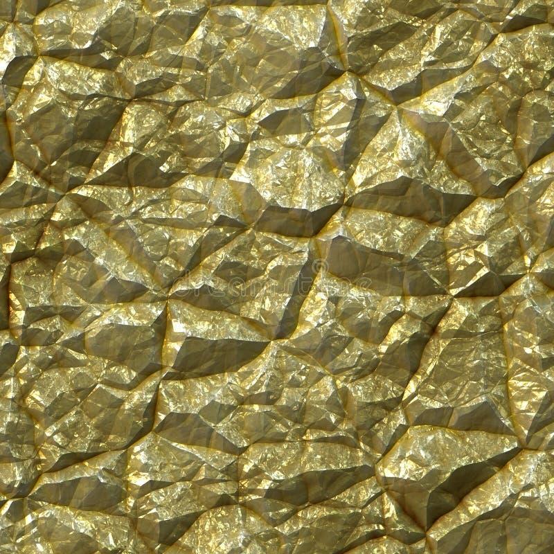 Ruw goud royalty-vrije illustratie