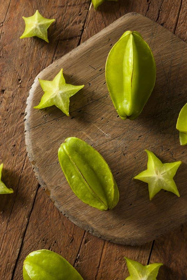 Ruw Organisch Sterfruit royalty-vrije stock afbeelding
