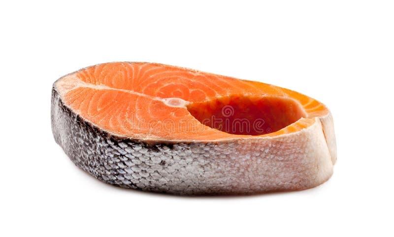 Ruw Salmon Steak royalty-vrije stock fotografie