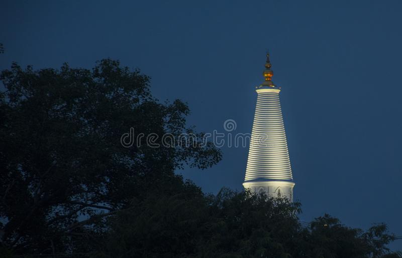Ruwanweli Maha Seya obrazy stock