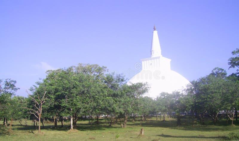 Ruwanwelisaya (stupa) zdjęcie stock