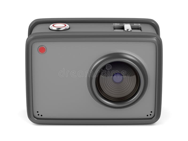 Download Ruwe actiecamera stock illustratie. Illustratie bestaande uit foto - 114225560