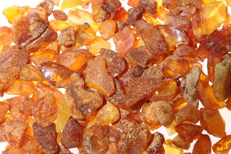 Ruwe amber royalty-vrije stock foto's