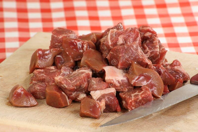 Lapje vlees en nier royalty-vrije stock fotografie