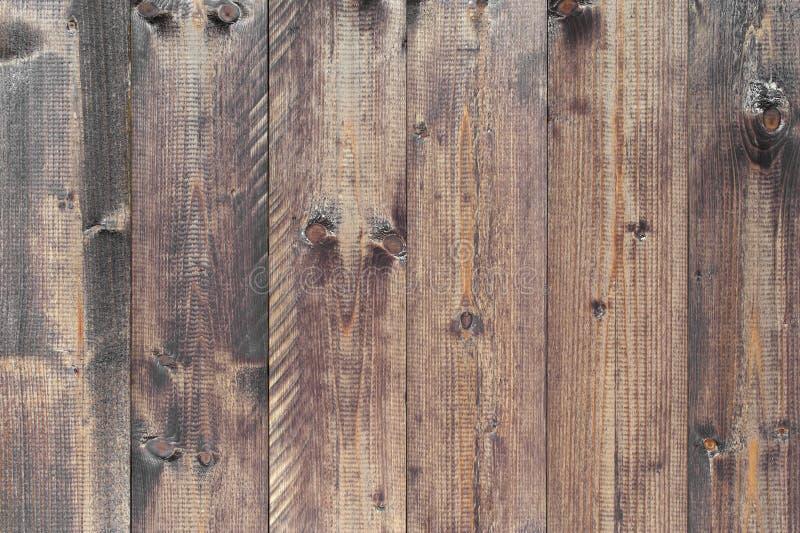 Ruwe houten grijs-bruine achtergrond royalty-vrije stock foto's