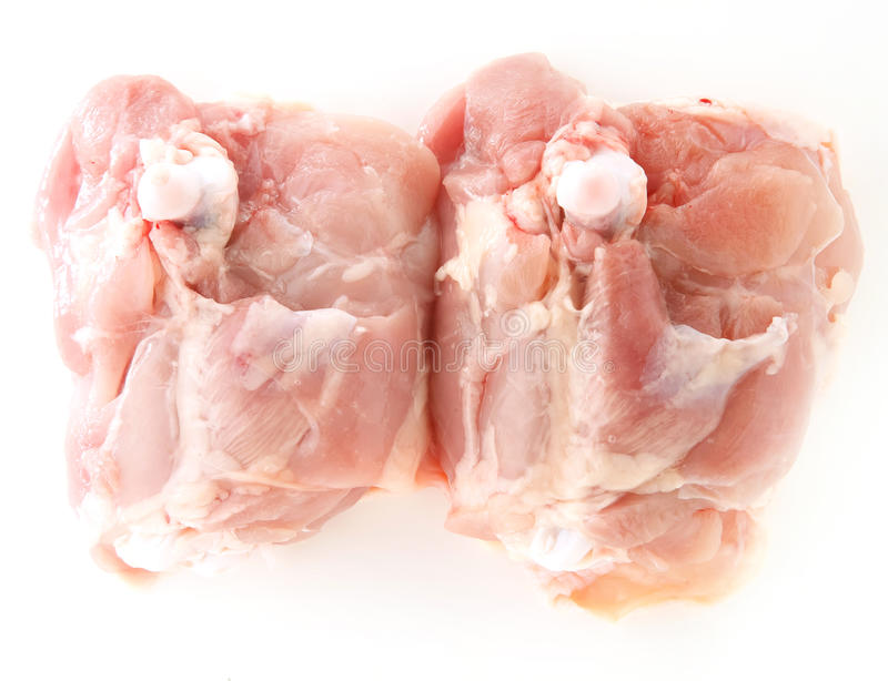 Ruwe kippenfilet stock fotografie