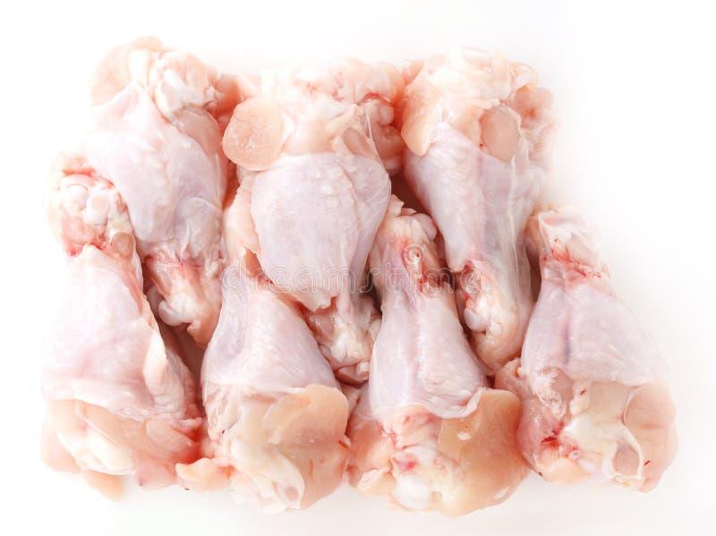Ruwe kippenvleugel royalty-vrije stock afbeelding
