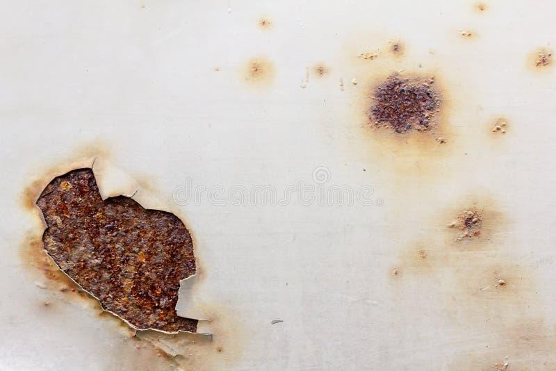 Ruwe metaal roestige oude achtergrond, staal royalty-vrije stock foto