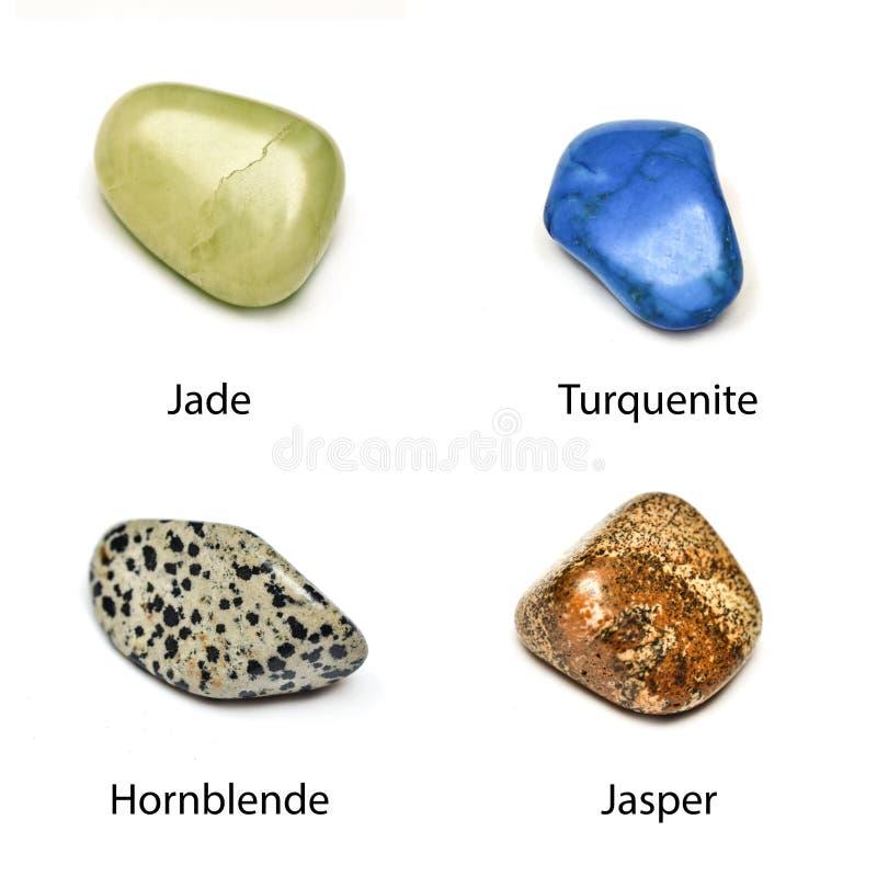 Ruwe mineralen royalty-vrije stock fotografie