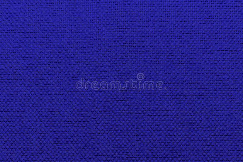 Ruwe textiel blauwe achtergrond royalty-vrije stock foto