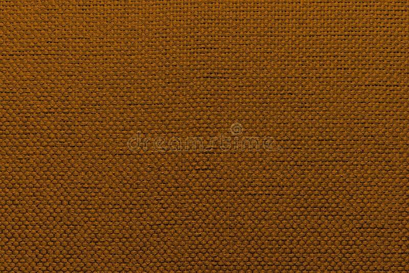 Ruwe textiel bruine achtergrond royalty-vrije stock foto's