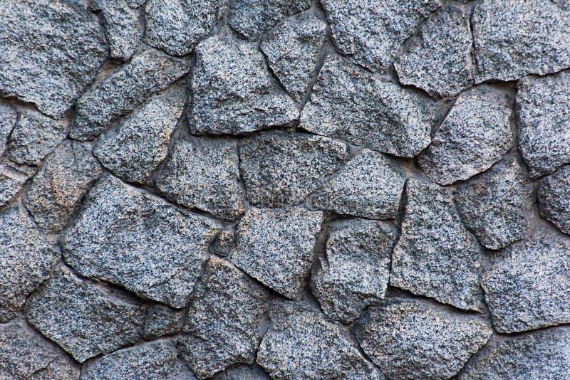Ruwe textuur van een steenmuur royalty-vrije stock foto