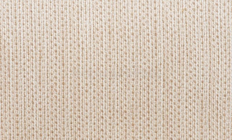 Ruwe textuur van witte doek stock afbeeldingen