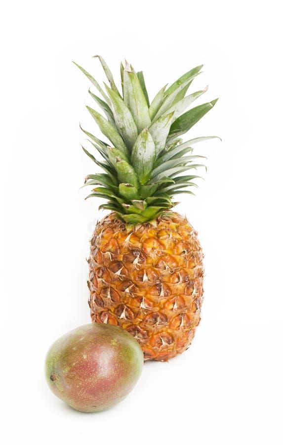 Ruwe vruchten royalty-vrije stock foto