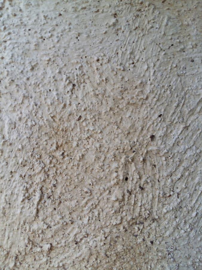 Ruwe witte muurtextuur stock fotografie