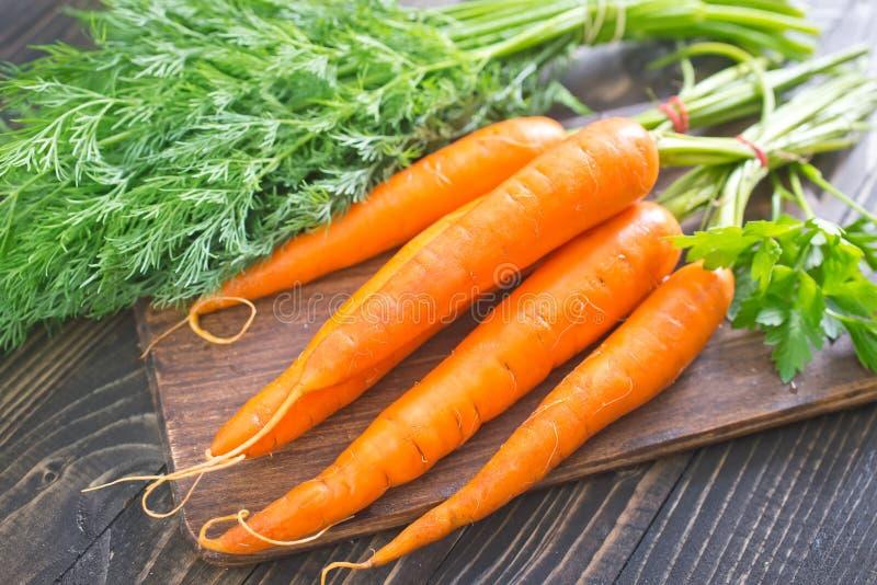 Ruwe wortel stock foto