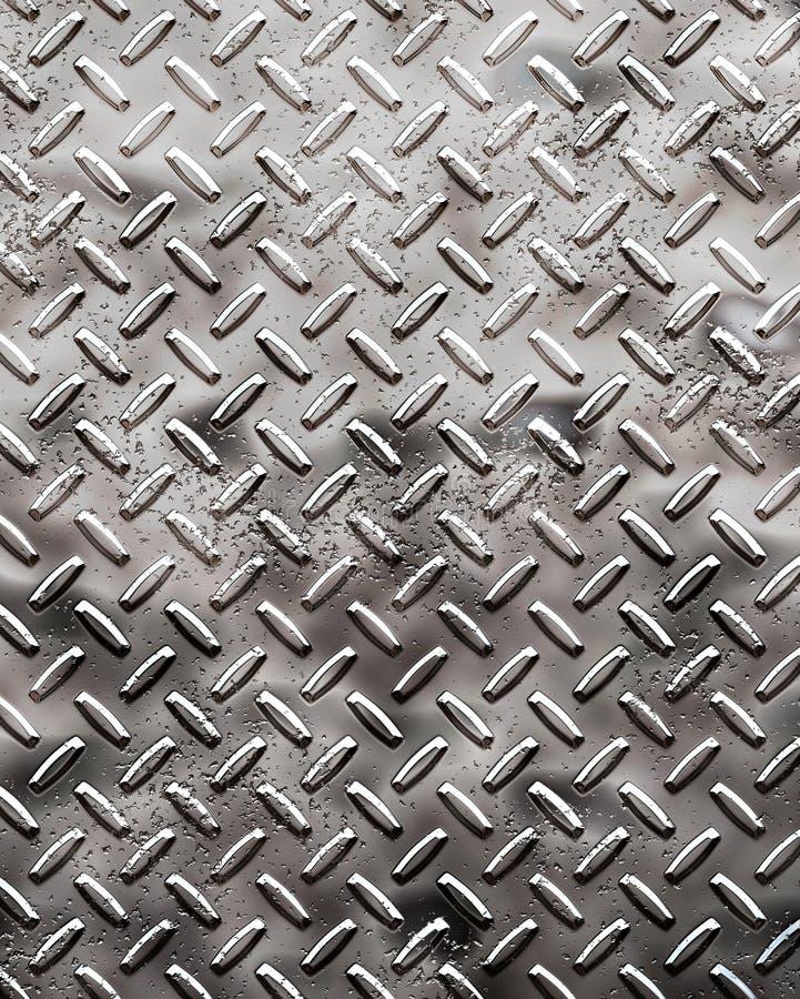 Ruwe zwarte diamantplaat stock illustratie