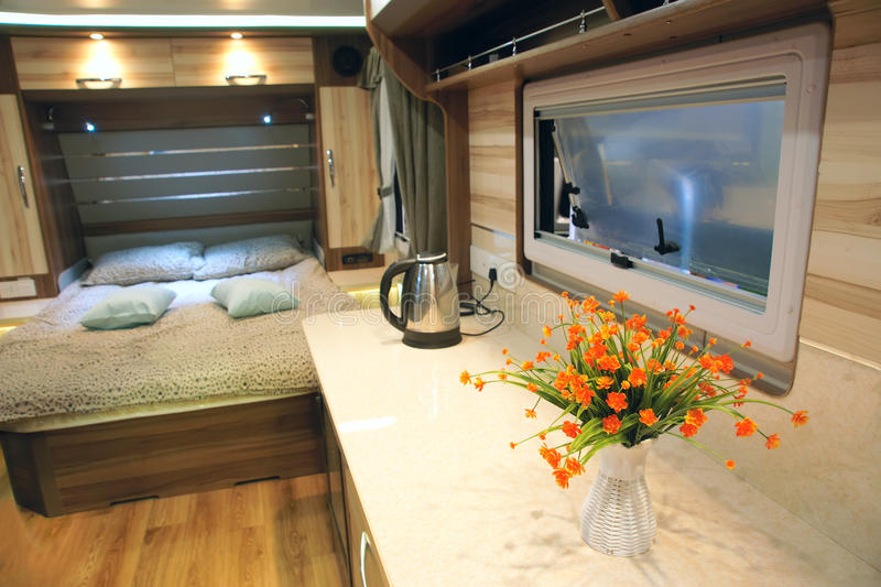 RV interior stock images