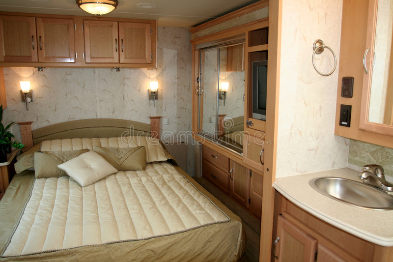 Download RV Motorhome stock photo. Image of inside, camper, holiday - 1148536