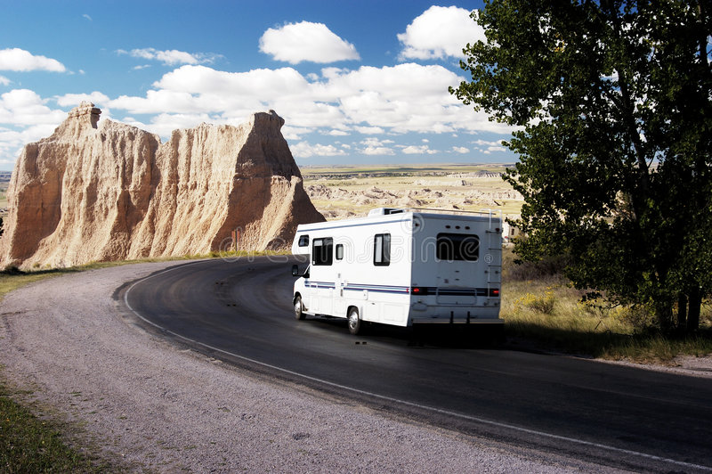 Rv-Reise 3 stockfoto