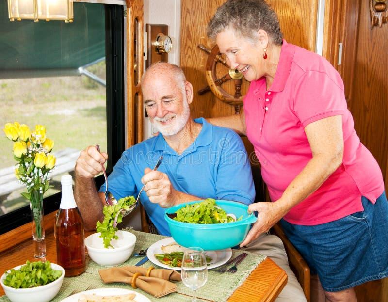 Download RV Seniors - Salad Bowl stock photo. Image of kitchen - 9982662
