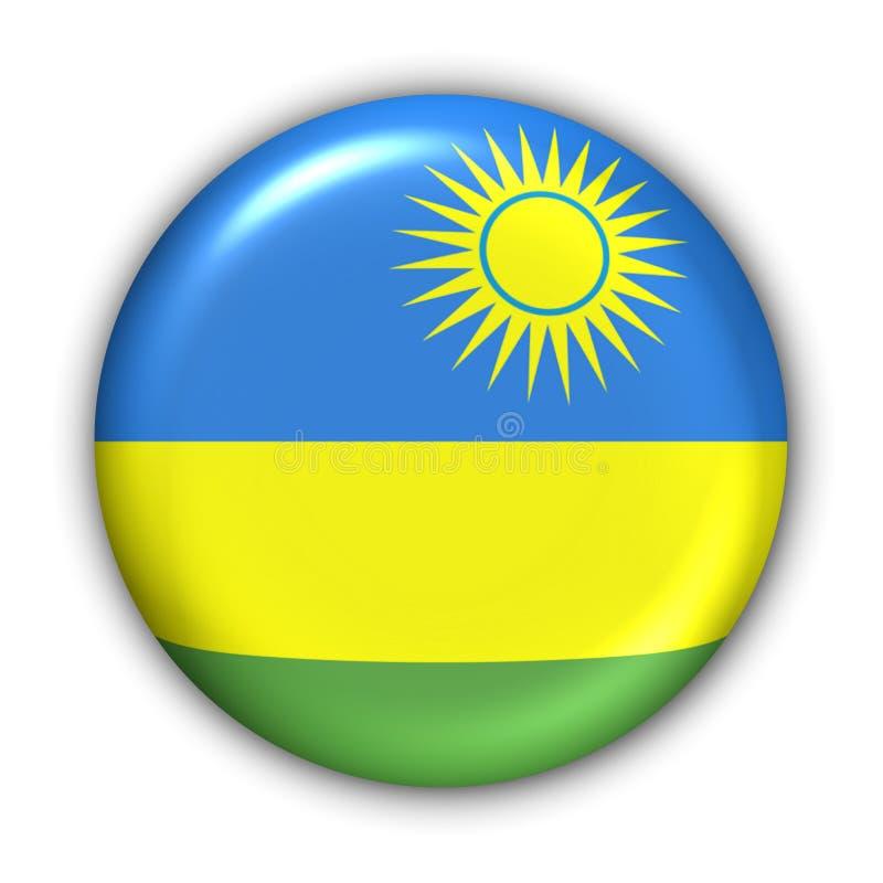 Rwanda Flag royalty free illustration