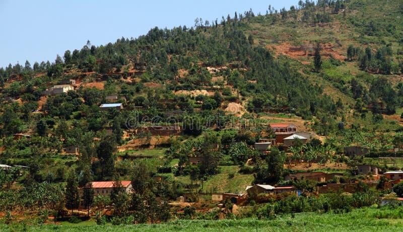 Rwandan Countryside royalty free stock images