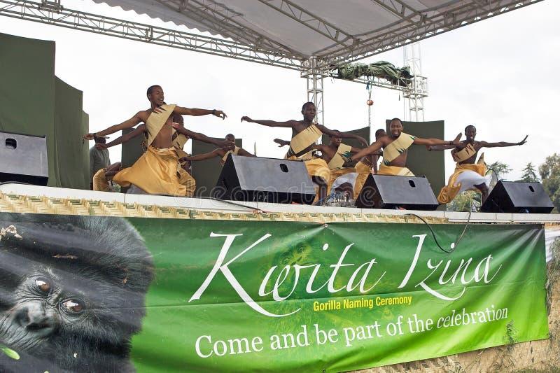 Download Rwandan dancers editorial image. Image of rwanda, festival - 19693130
