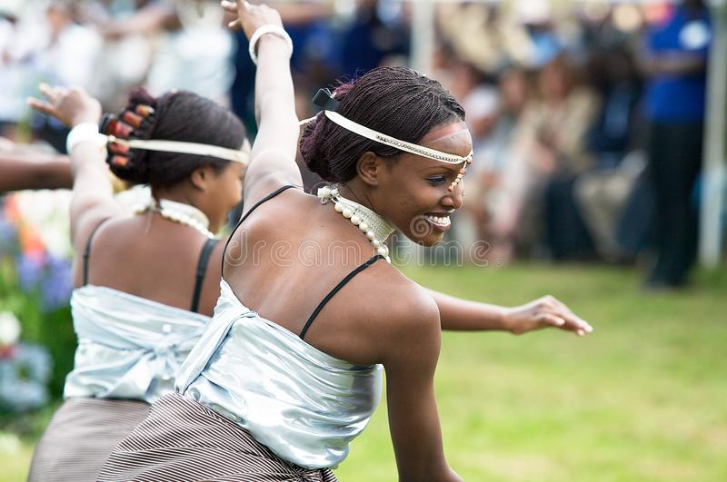rwandan dans arkivbilder