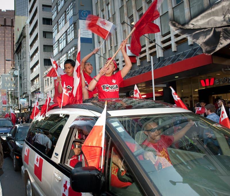 Download RWC Tongan Fans Go Wild Editorial Photo - Image: 21095371