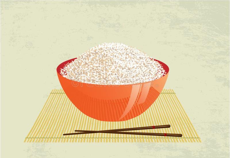 ryż ilustracji