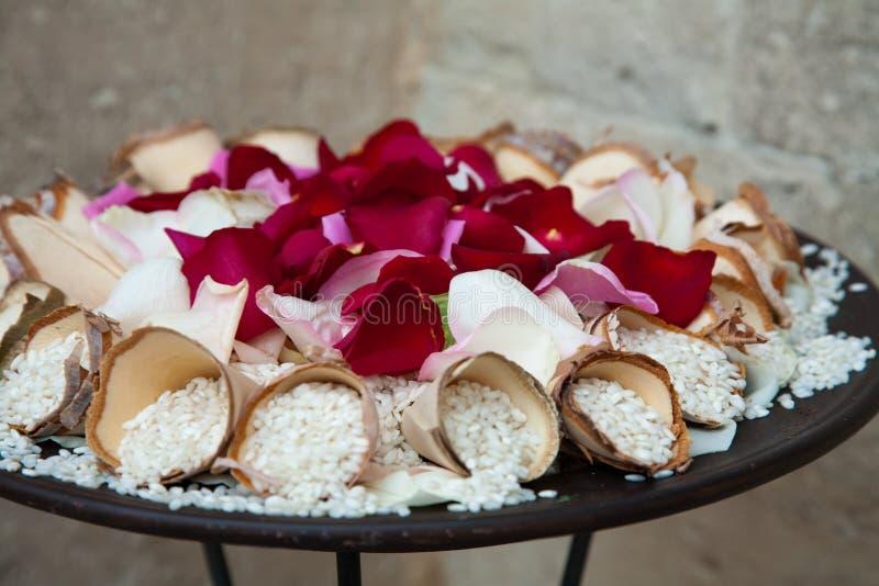 ryżowy ślub obraz royalty free
