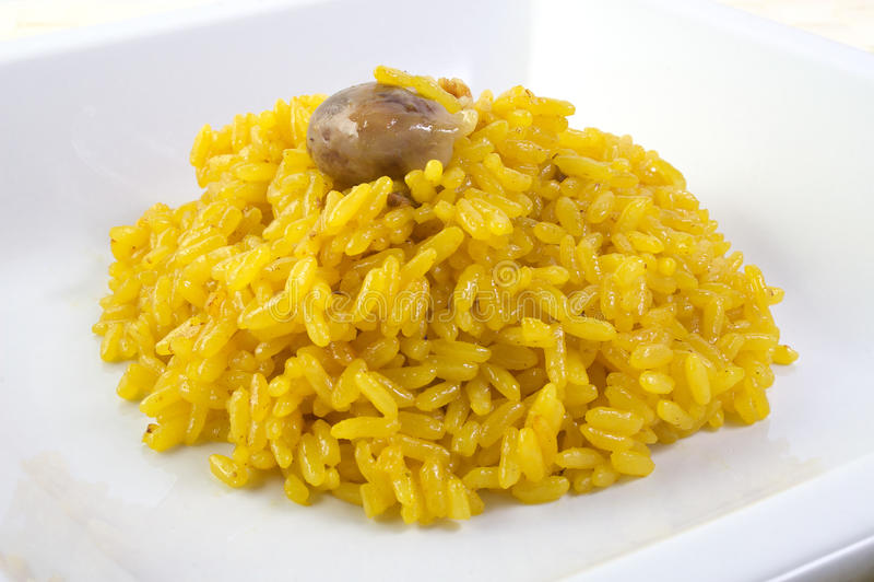 ryżowy szafran zdjęcia royalty free