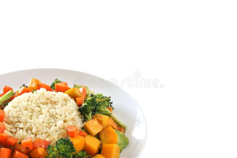 Download Ryż. obraz stock. Obraz złożonej z brokuły, lunch, smażący - 3992771