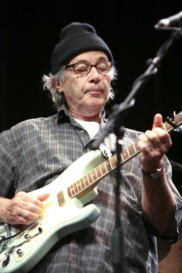Ry cooder on stage 2 royalty free stock photo