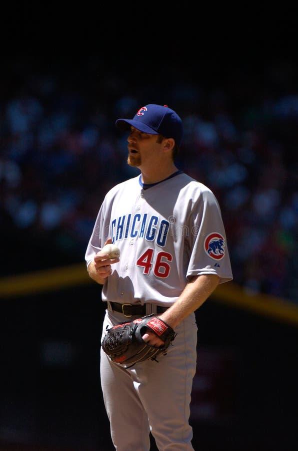 Ryan Dempster Chicago Cubskanna royaltyfri bild