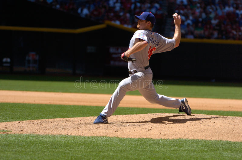 Ryan Dempster Chicago Cubskanna arkivfoto