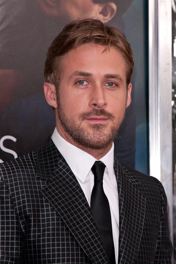 Ryan Gosling imagen de archivo libre de regalías