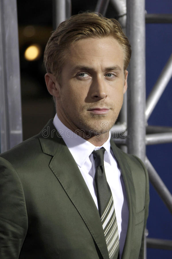 Ryan Gosling foto de stock royalty free