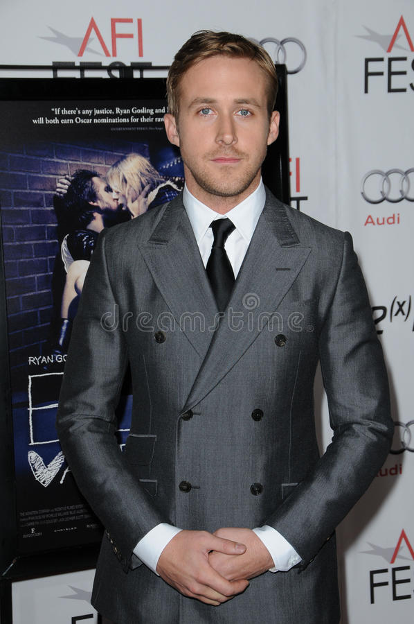 Download Ryan Gosling editorial photo. Image of blue, theater - 24817746