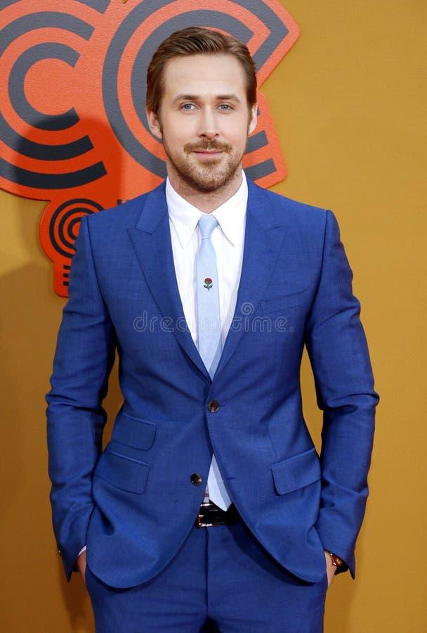 Ryan Gosling foto de archivo libre de regalías