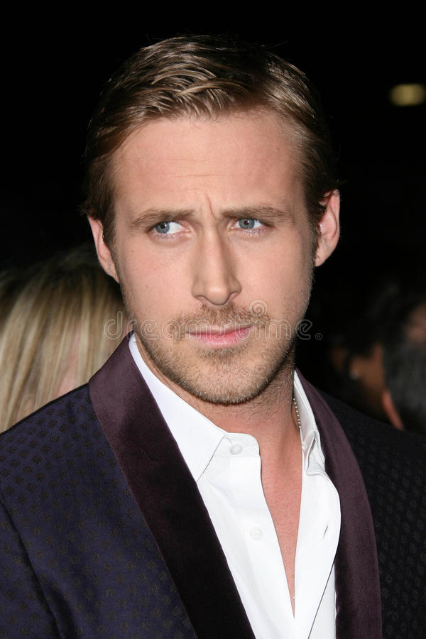 Ryan Gosling photographie stock