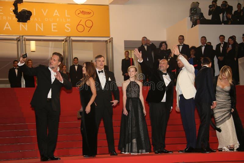 Ryan Gosling, Matt Bome, Russell Crowe photos libres de droits