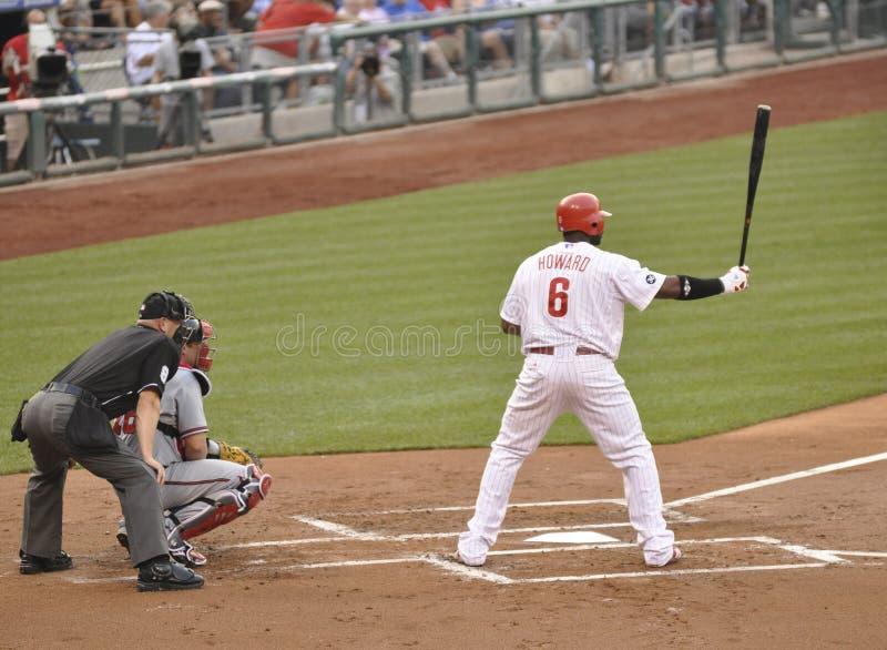 Ryan Howard, Philadelphie Phillies photo stock