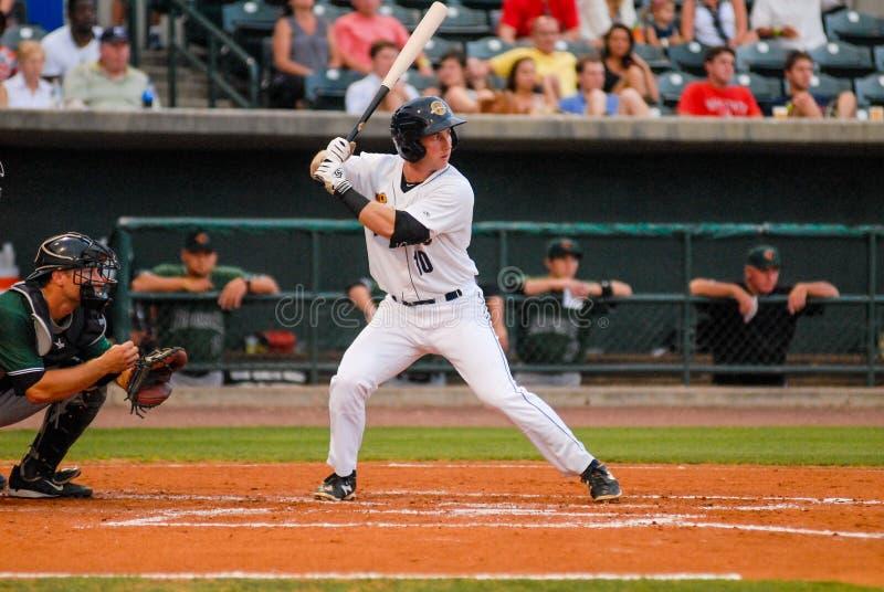 Ryan Lindemuth Charleston RiverDogs royaltyfri bild
