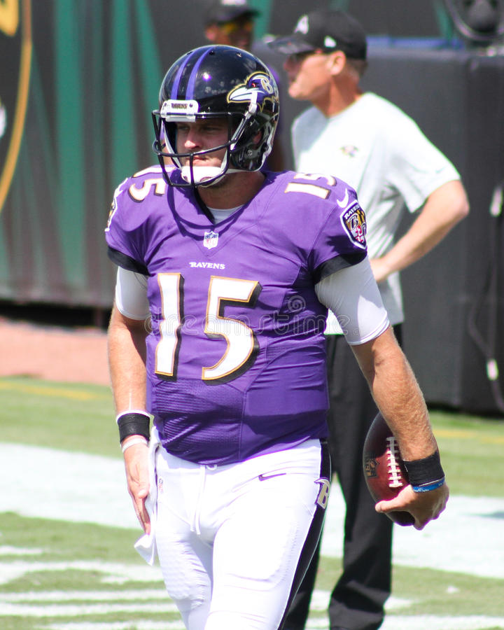 Ryan Mallett. Baltimore Ravens QB Ryan Mallett, #15 stock photos
