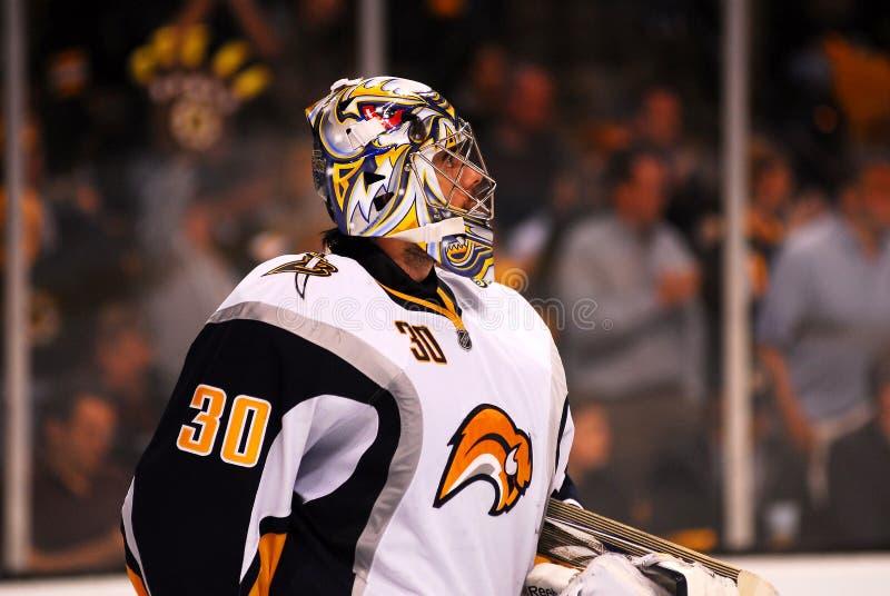Ryan Miller Buffalo Sabres goalie. Ryan Miller Buffalo Sabres goaltender stock images