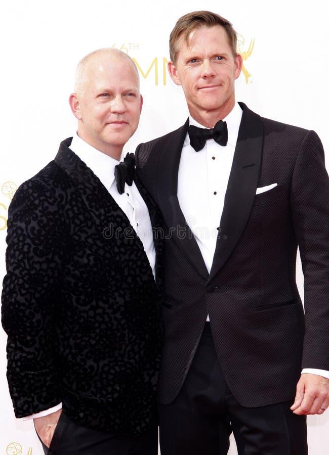 Ryan Murphy och David Miller royaltyfri bild